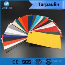 All color 33.2oz cotton tarplin pvc