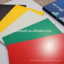 Revestimiento de paredes de cortina material acp Hoja de anuncios Alucobond ACP