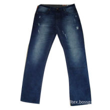 Men's skinny jeans/denim pants/woven trousers, made of cotton