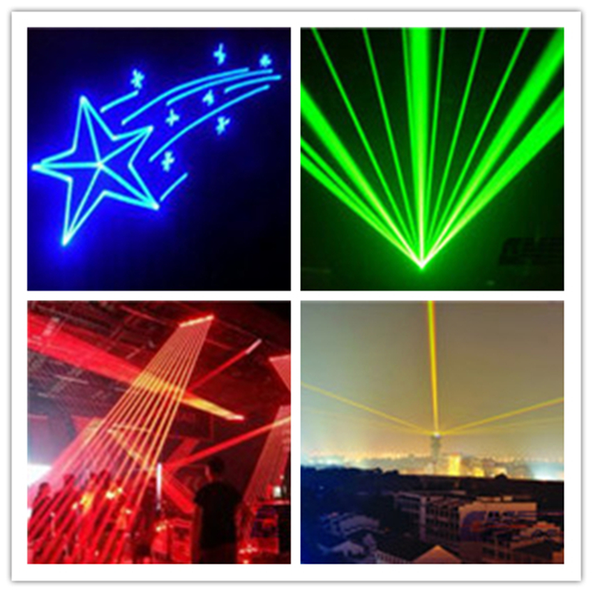 Laser for light show