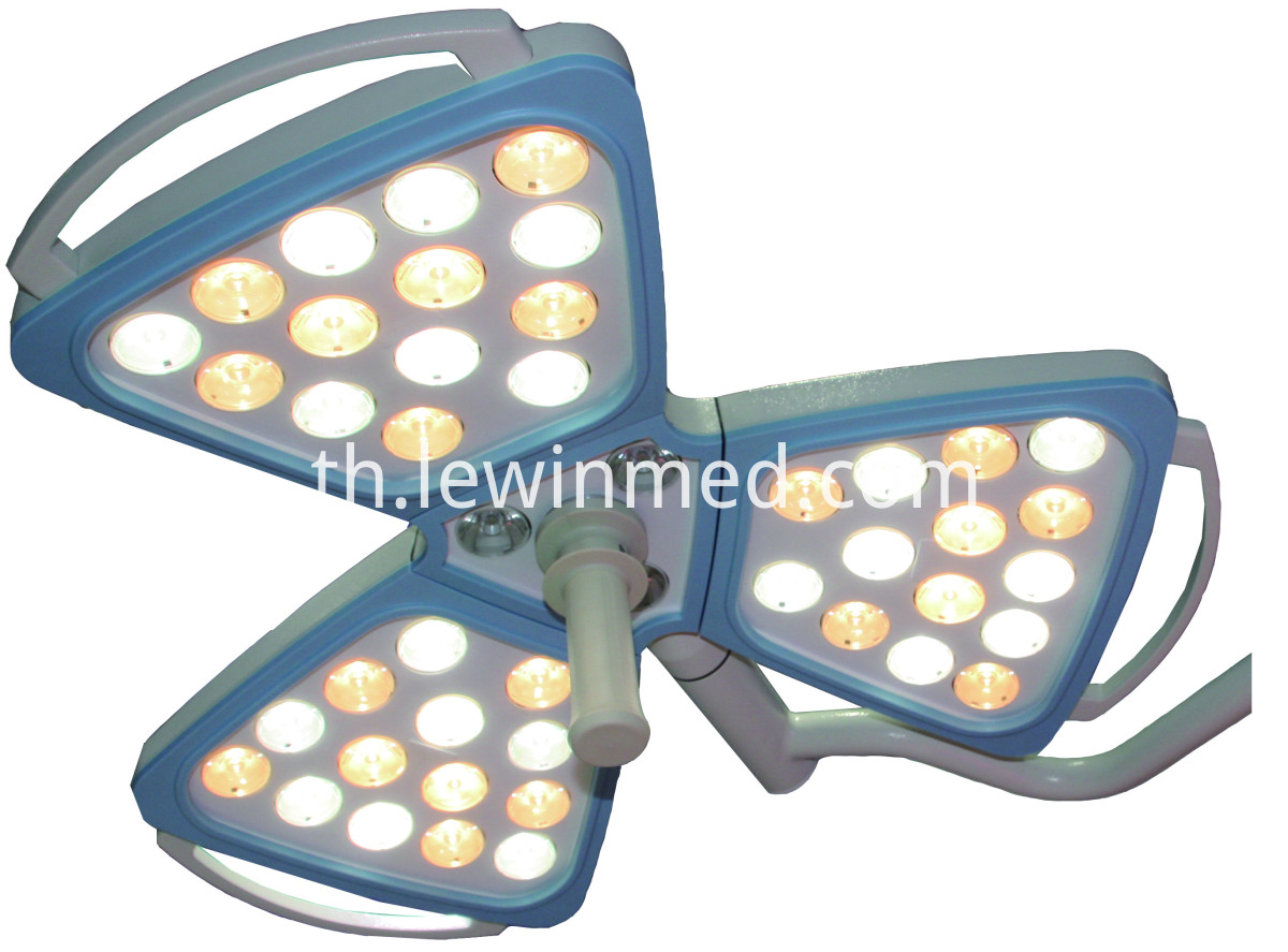 Ceiling led surgical lamp