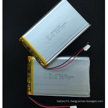 5000mAh Li-Polymer Rechargeable Battery 686196 3.7V