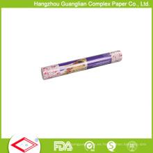 Rollo de papel sin grasa blanco natural de la impresión del OEM 40GSM