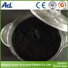Poudre de charbon de bois à base de charbon actif pour l'industrie sucrière