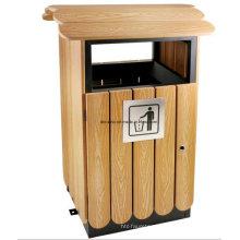 Cubo de basura al aire libre para Eco-Friendly Dl67
