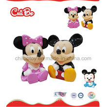 Pequeña figura plástica de la serie del ratón juguetes (CB-PM024-S)
