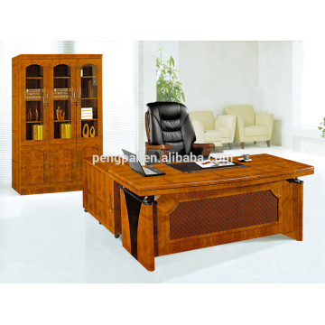 Popular Wooden vintage design furniture office desk with drawer 02