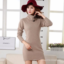 New fashion Plush coat women fashion seven sleeve dress ladies pullover outwear mink cashmere long sweater