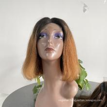 Cheap Price Short Bob Human Hair Wigs,8-14inch Wholesale Mink Brazilian Hair Wig,4x4 13x4 Bob Wigs Lace Front For Black Women