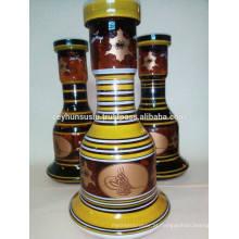Hookah Bottle with Gold Trim, Atacado Melhor qualidade
