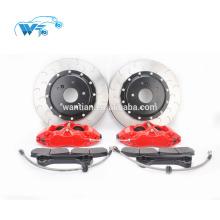 Conjuntos de freio de alto desempenho Cast WT 9200 kit de freio com 330 * 28mm discos de freio apto para muitos modelo de carro 17 polegadas roda