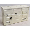 Metal Container Style Sideboard White Color Real Ship Container Look