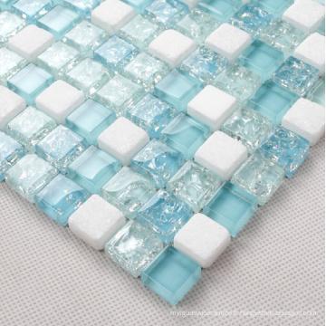 Mosaic Wall Tile, Crystal Glass Mosaic (HGM216)