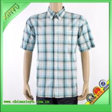 2016 Neuer Entwurfs-Kurzschluss-Hülsen-Hemden für Männer