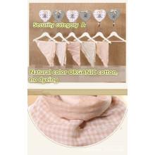 Toalla orgánica 66 * 45cm del Trinangle del bebé del paño de la muselina del color