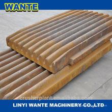 Mangan-Stahl, Backenplatte Backenplatte Hochwertige Backenbrecherplatte