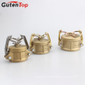 GutenTop Quick Camlock Fitting Connect Brass Cam and Groove Coupling Type DC