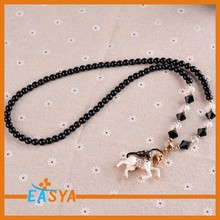 Necklaces For Fashion Horse With Rhinestone And Resin