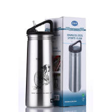 Single Wall Outdoor Sports Water Bottle Ssf-580 Stainless Steel Flask
