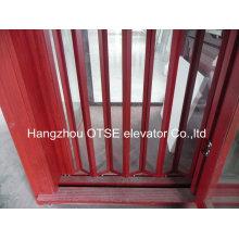 Складная дверь лифта