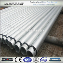 galvanized carbon steel pipe standard length price per ton