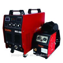 Máquina de soldadura del inversor del escudo del gas Mig500