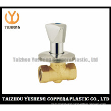 Brass Copper Gate Valve with Chrome-Plating Handle (YS6004)