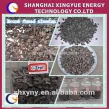 prix concurrentiel du marché de la poudre fine d'alumine fusionnée brune pour la coupe de jet d'eau