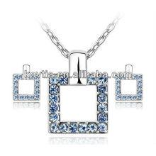 Дешевое ожерелье сплава цинка и серьга Африканский комплект ювелирных изделий