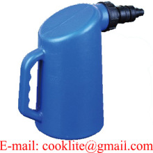 Battery Filler Bottle 2L Plastic Acid Fluid Distilled Water Filling Jug
