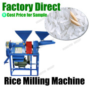Machine Rice Grinder Factory Direct Small Rice Mill Corn Flour Grinder 6NF-2.2