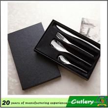 Couteau en acier inoxydable et fourchette cuillère 4 ensembles de couverts