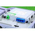 1 64 Optical Fiber LGX  Box Cassette Plug-in Type Splitter
