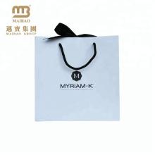 Maßgeschneiderte Werbeverpackung Papiertüte mit Druck für Parfüm