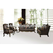Canapé en tissu classique en bois XB10005