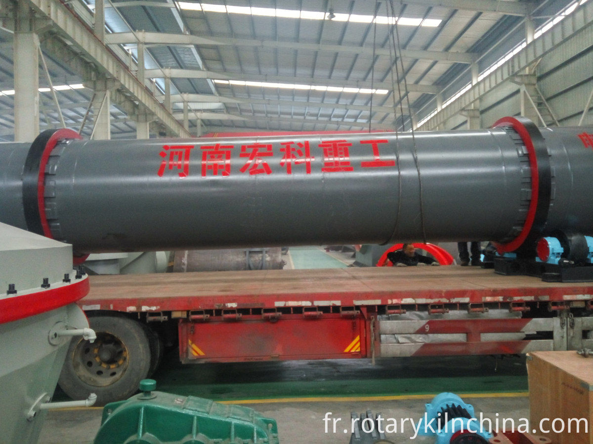 reduced iron rotary kiln (2)