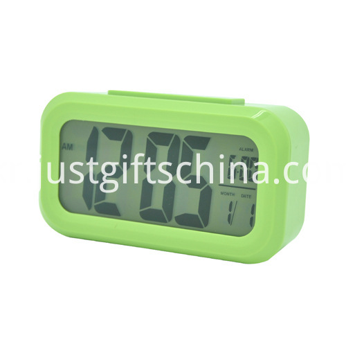 Promotional Colorful Plastic Lcd Clock_1
