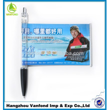 2015 new arrival banner pen, pull out banner pen, ad banner pen