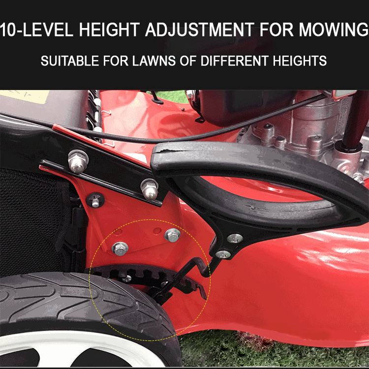 Lawn Mower Height Adjustment