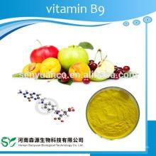 Vitamina B9 ou ácido fólico em pó