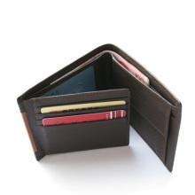 Prestige élégant en cuir véritable hommes porte-cartes porte-monnaie, pochette, sac à main femme cadeau carte, titulaire de la carte