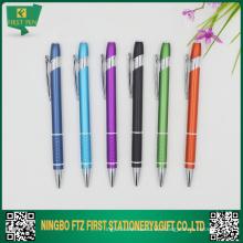 Pequeño MOQ de aluminio bolígrafo df