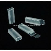 Glissières de microscope en plastique Mailer 5 Place