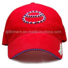 Promoción de algodón de sándwich Puff bordado ocio gorra de béisbol (tr051)