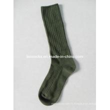 Hommes Chaussettes en coton d'armée (DL-AS-07)