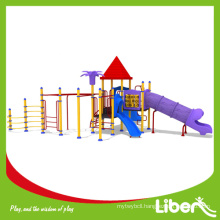 ISO9001 Approved Playground Slide Playground with Metal Climbing Structure