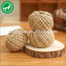 Cuerda de yute de 6 mm, 8 mm para agricultura, marina, embalaje, decoración