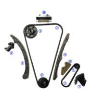 Kit De Distribucion Timing Chain Kits for Honda 2.4lk24A1, K24z 4cyl 02-09 with Vvt