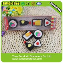 Food SuShi Shaped Eraser,Stationery gift