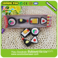 Food SuShi Shaped Eraser, cadeau de papeterie